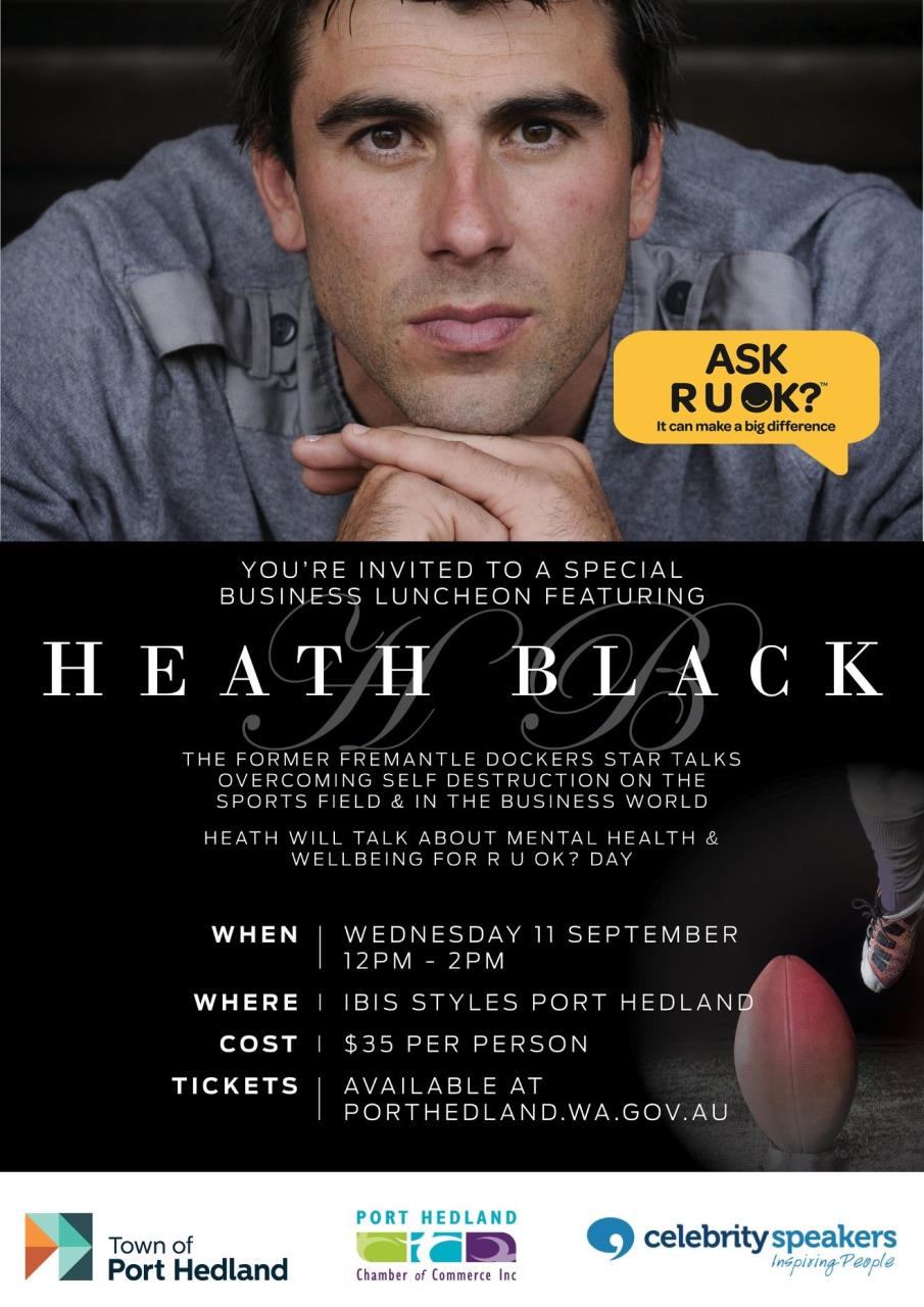 Business Luncheon with Heath Black