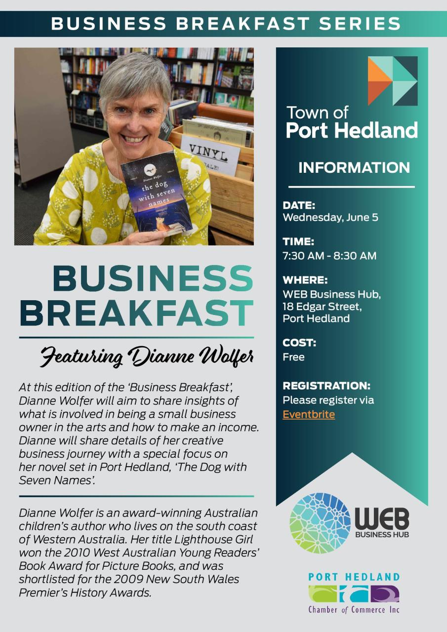 Business Breakfast Series with Dianne Wolfer