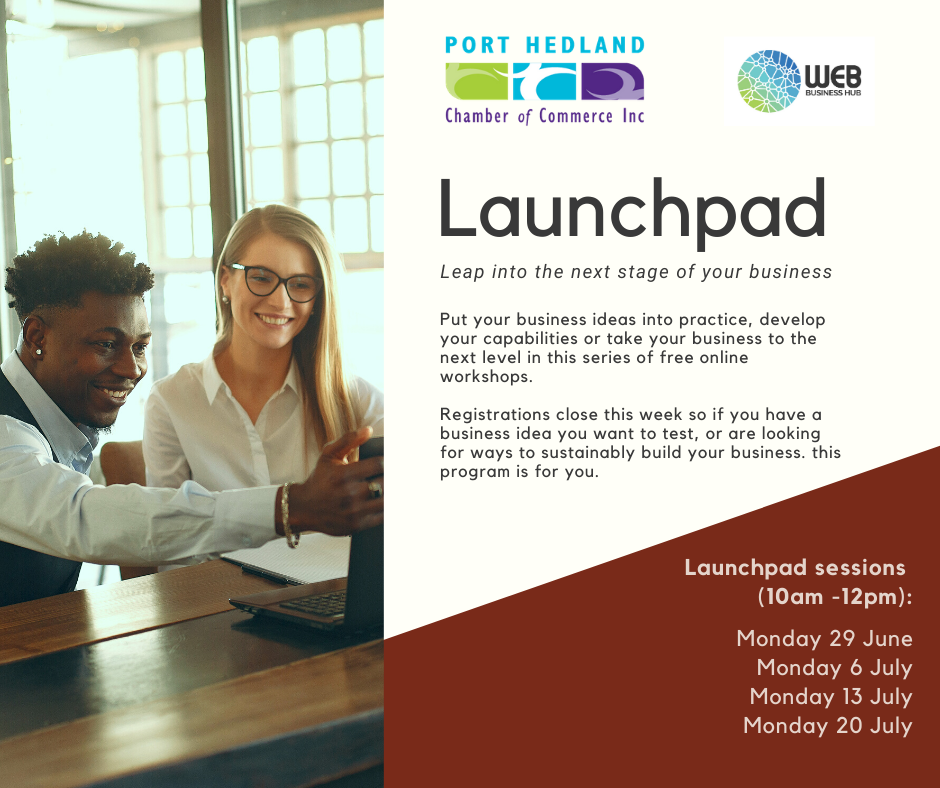 Launchpad - Registrations Close 28th June 2020