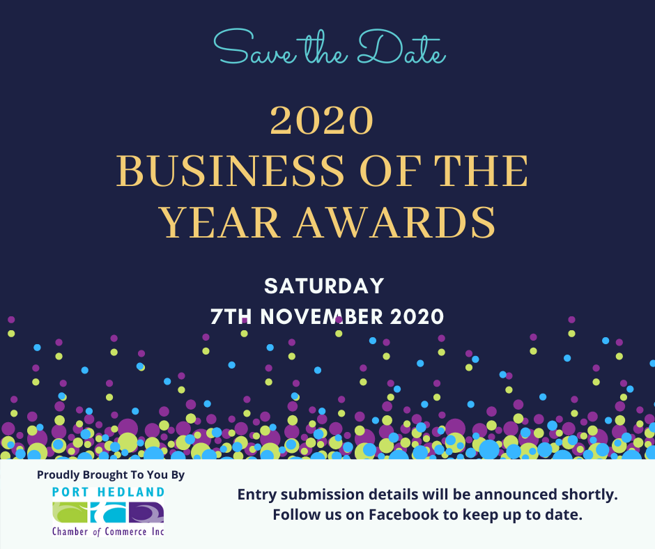 Business of the Year Awards 2020 - SAVE THE DATE!